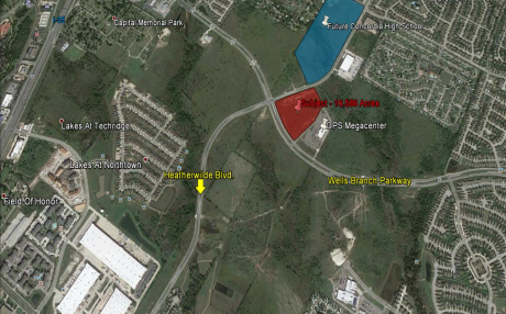 16.58 AC Commercial/Multifamily Site - GATEWAY TO PFLUGERVILLE