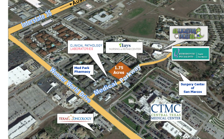 ± 1.75 Acres, Medical Parkway                 Commercial Site