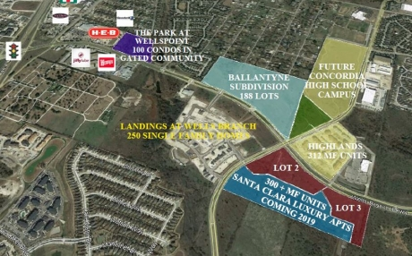Wells Branch Pkwy & Heatherwilde Blvd - Mixed-Use Land (Retail/ Office/ Medical/ Multifamily Sites)