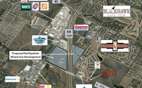 1.37 AC - Falcon Pointe Commercial, Retail, Office or Medical Site